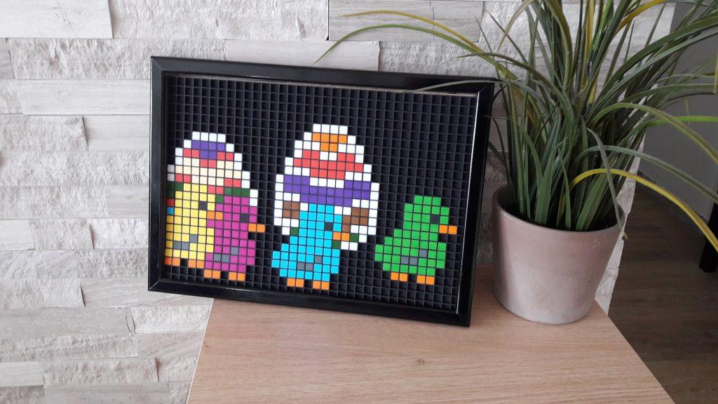 Poussin Pâques pixel art photo 2