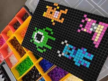 Montres et compagnie pixel art cadre 2