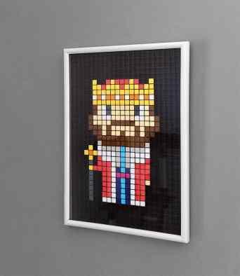 Roi pixel art photo