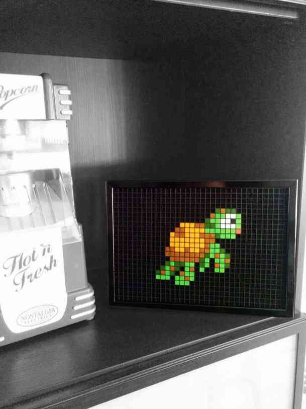 Tortue Nemo Pixel Art photo