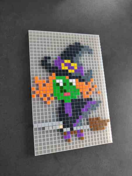 Sorciere ouest halloween pixel art photo