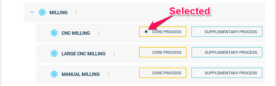 Step 5 on the Processes Tab