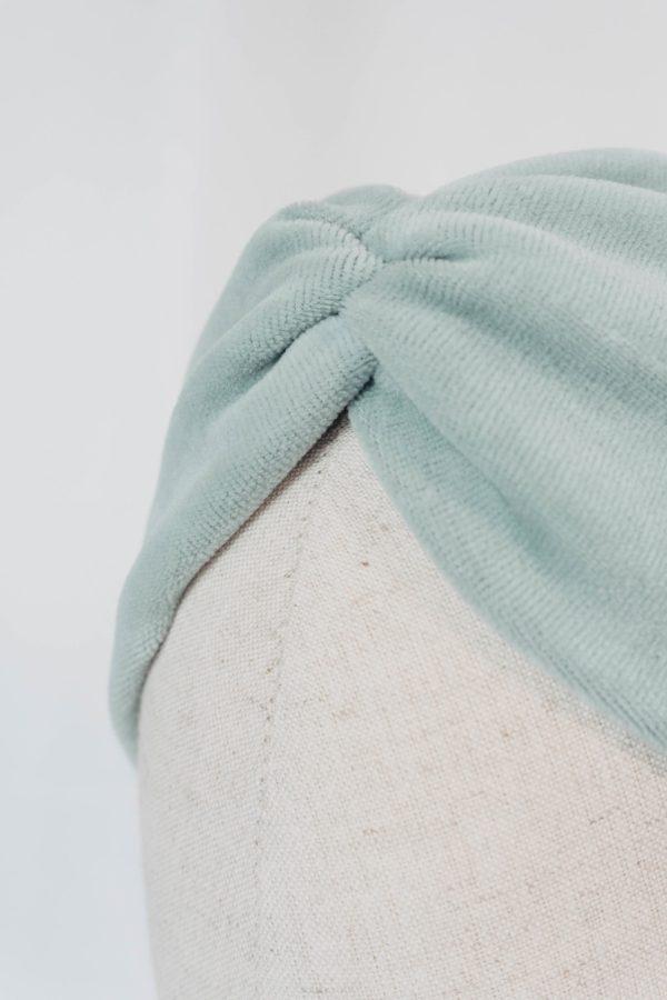 Nachhaltiges Stirnband RUFFLE MintBiobaumwolle handgefertigt in Deutschland Nicki 7 scaled <ul> <li>Handgefertigt in Deutschland</li> <li>100% Baumwolle (Bio)</li> <li>vegan</li> </ul>