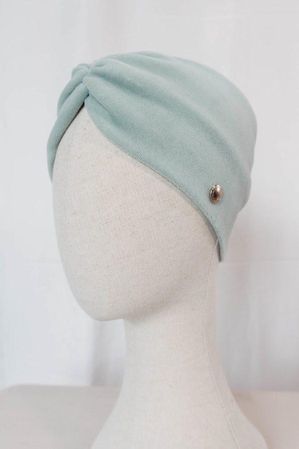 Nachhaltiges Stirnband RUFFLE MintBiobaumwolle handgefertigt in Deutschland Nicki 8 scaled <ul> <li>Handgefertigt in Deutschland</li> <li>100% Baumwolle (Bio)</li> <li>vegan</li> </ul>