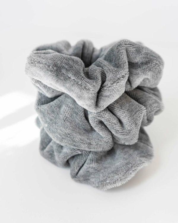 nachhaltiges Scrunchie aus Biobaumwolle