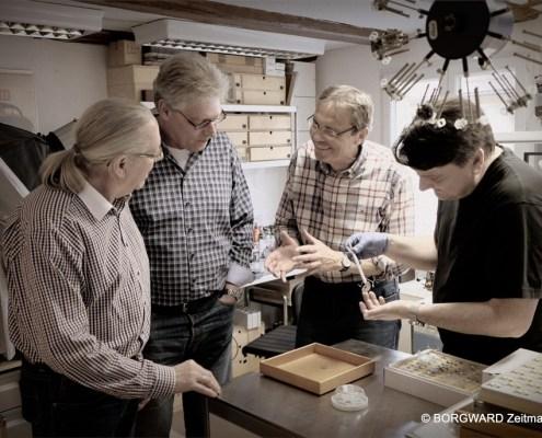 Manufakturen-Blog: Aus der Fertigung der Borgward Zeitmanufaktur (Foto: Borgward Zeitmanufaktur)