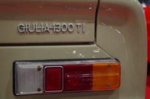 Manufakturen-Blog: Besuch auf der Bremen Classic Motorshow 2016 - Alfa Giulia 1300 TI (Foto: Christoph Sodemann)