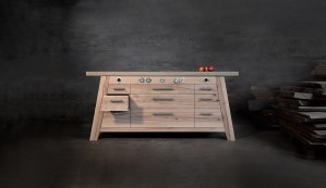 Manufakturen-Blog: Kochtisch der Möbelmanufaktur Sommer (Foto: Möbelmanufaktur Sommer)