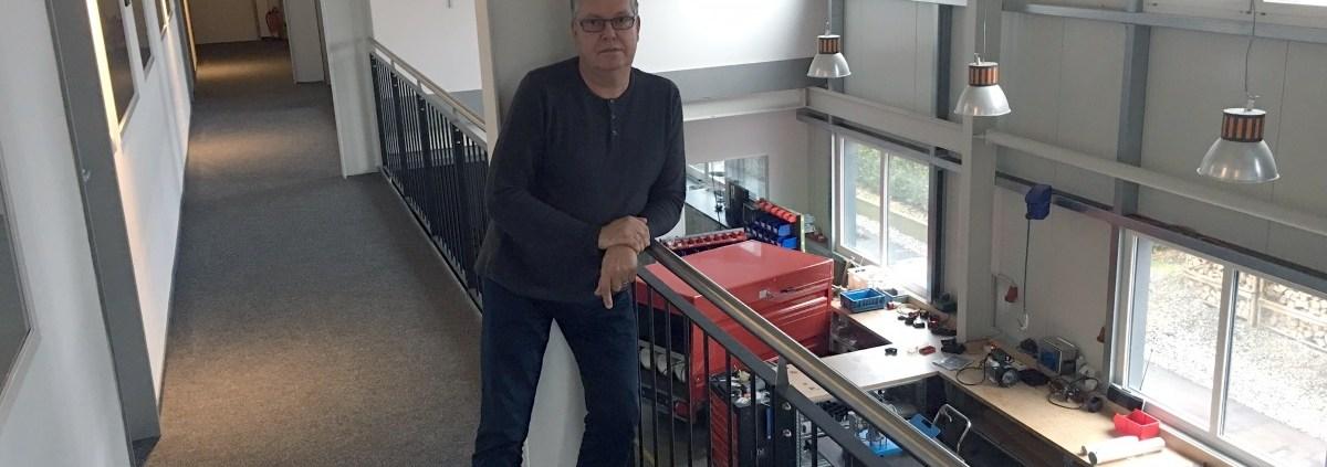 Manufakturen-Blog: Stephan Adam sucht technische Anknüpfung in Richtung Industrie (Foto: IDE-Compressors Manufaktur GmbH/Gabriele Adam)
