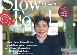 """Manufakturen-Blog: Luka Lübke wird vom Slow-Food-Magazin 01/2018 als """"Food Hero"""" geehrt (Repro: Wigmar Bressel)"""