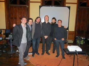 With Ale Fenerich, J-P Caron, Mario DelNunzio, Alexandre Porres, Alsemo Guerra