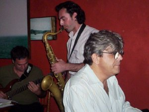 Manu Mozar e Sérgio Bello
