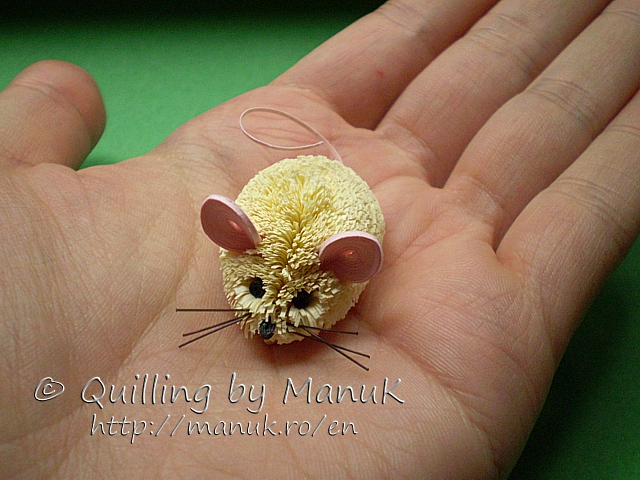 Quilled Mouse
