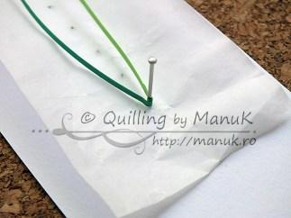 Quilled Grass Tutorial 02