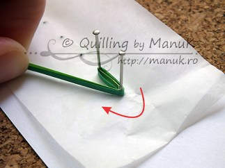 Quilled Grass Tutorial 05