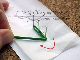 Quilled Grass Tutorial 07