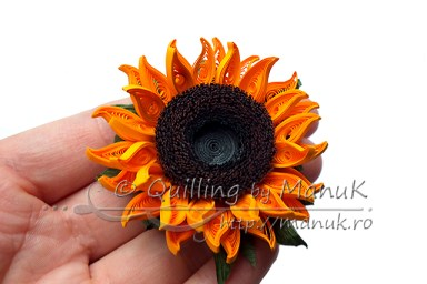 Quilled Sunflowers - Version 1