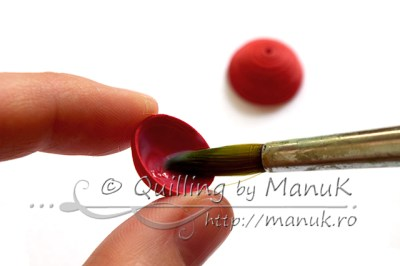 Quilled Cherries Tutorial - Step 2