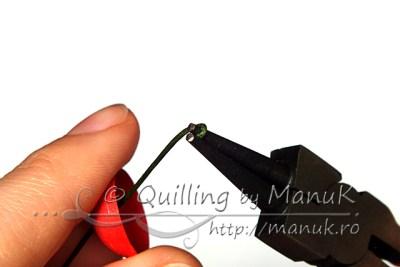 Quilled Cherries Tutorial - Step 3