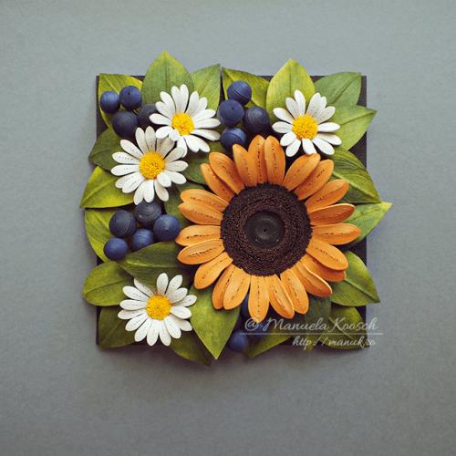 Summer Mood - Floral Tile IV