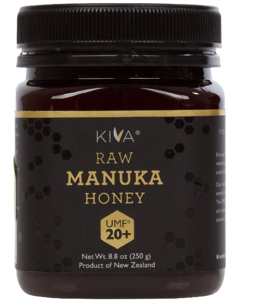 Kiva Certified UMF 20+ Manuka Honey