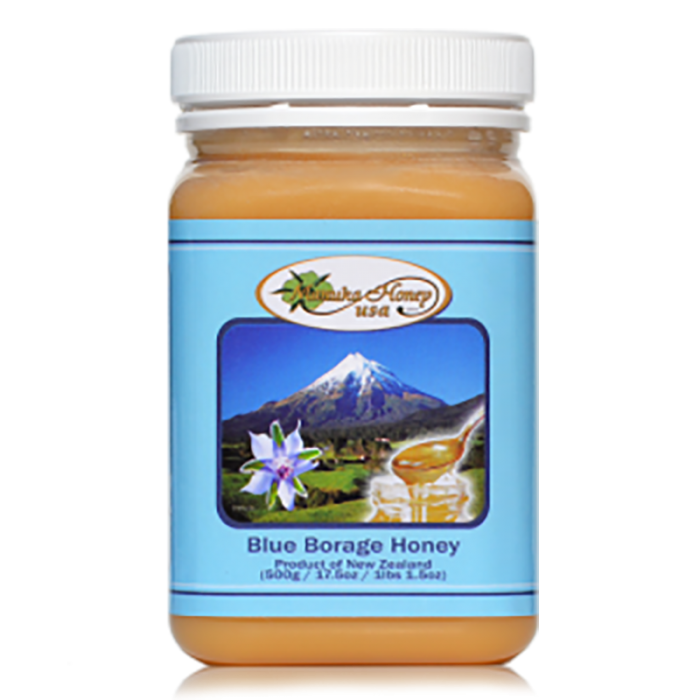 Blue Borage Honey