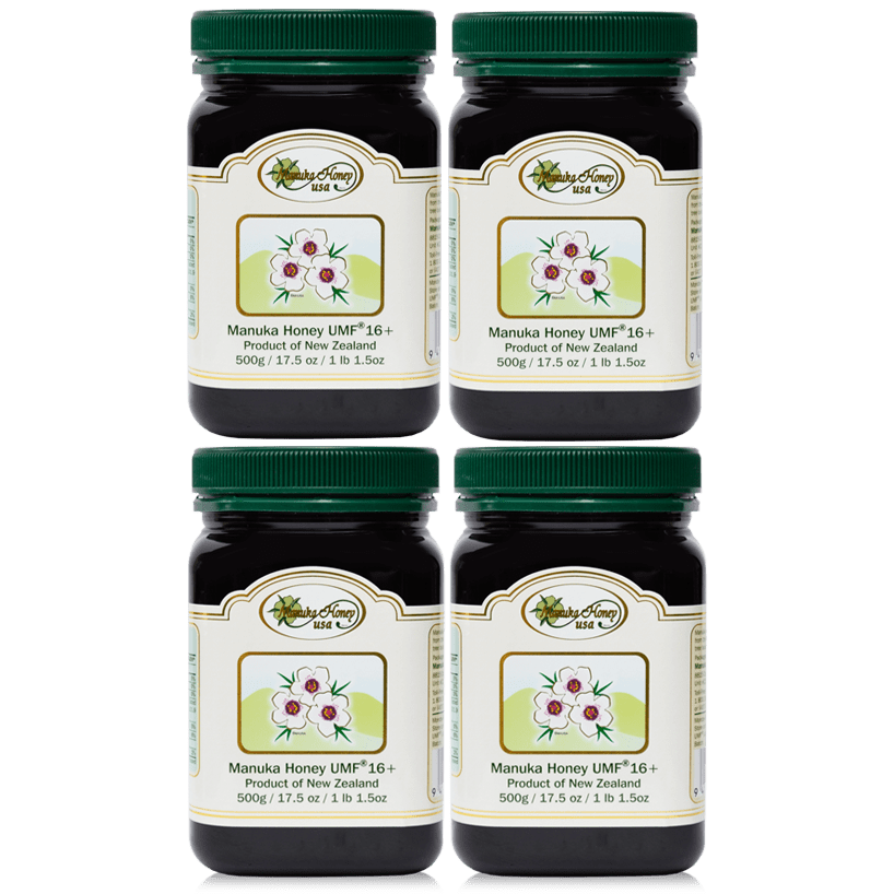 Manuka Honey 4 Jars