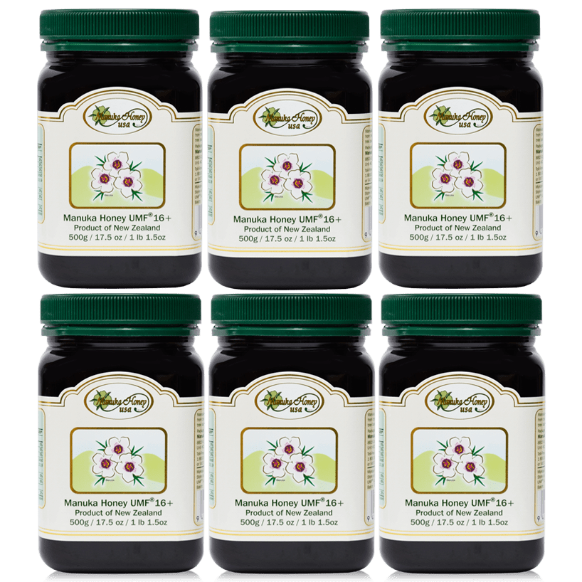 Manuka Honey 6 Jars