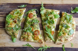 flatbread pizza, manuka honey recipe