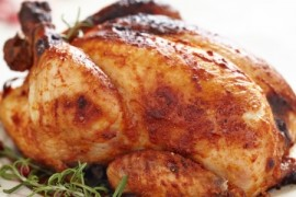 manuka honey, apricot roasted chicken