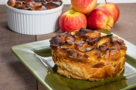 apple bread pudding, manuka honey recipes