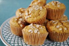 muffins, muffin recipe, manuka honey