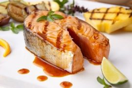 grilled salmon, Manuka honey recipes