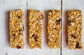 peanut butter oat bar, Manuka honey recipes