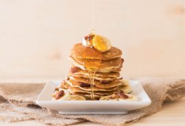 Peanut Butter Pancakes, Manuka honey recipes