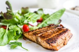 manuka honey glazed salmon