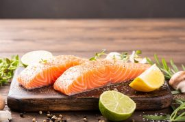 baked salmon recipe, manuka honey recipes
