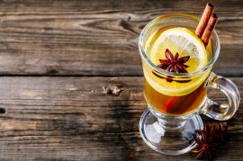 hot toddy with manuka honey