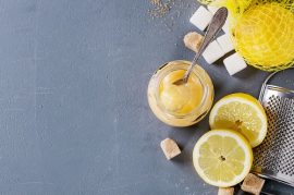 lemon curd with Manuka honey