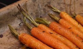Baby Roasted Carrots