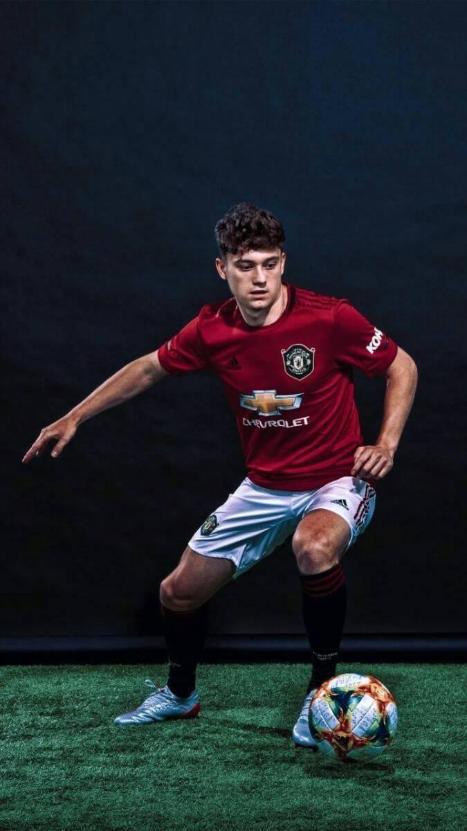 Wallpaper Man Utd Hd Daniel James Hd Wallpapers At Manchester United Man Utd Core