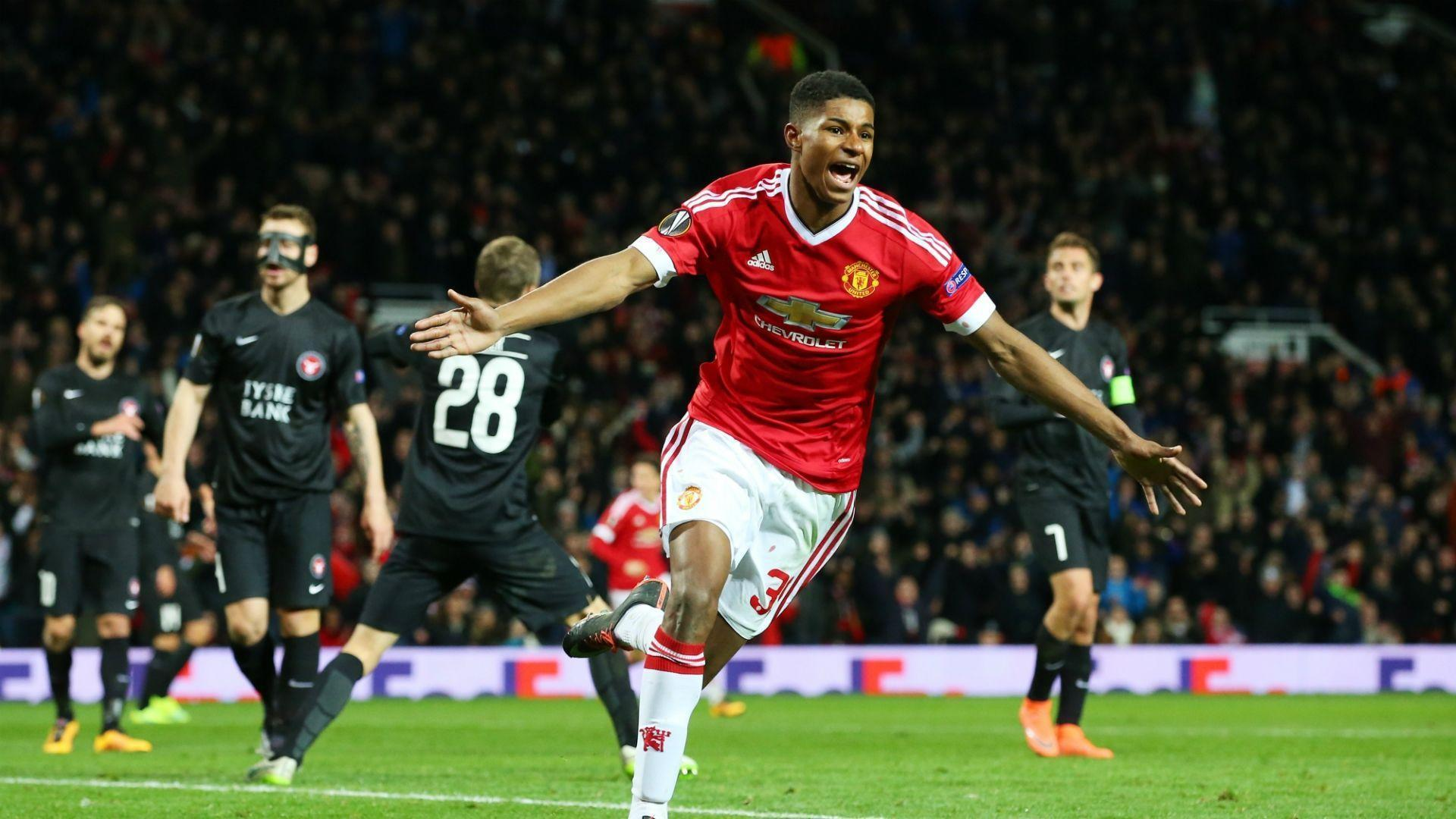 Manchester United Old Trafford Stadium Wallpapers Hd Marcus Rashford Hd Desktop Wallpapers At Manchester United