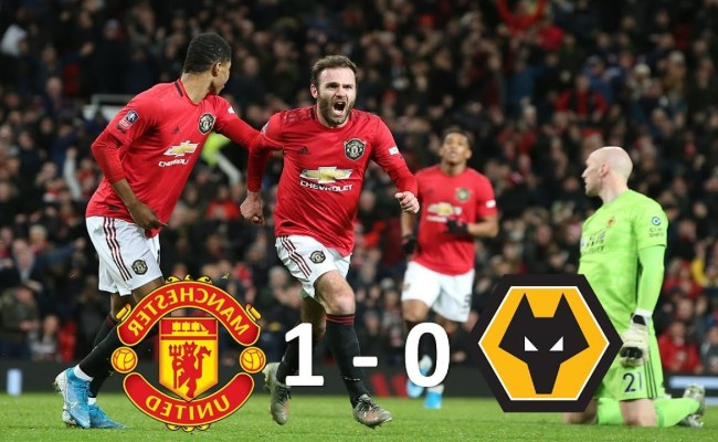 Manchester United 1 0 Wolverhamptom Wanderers Interesting
