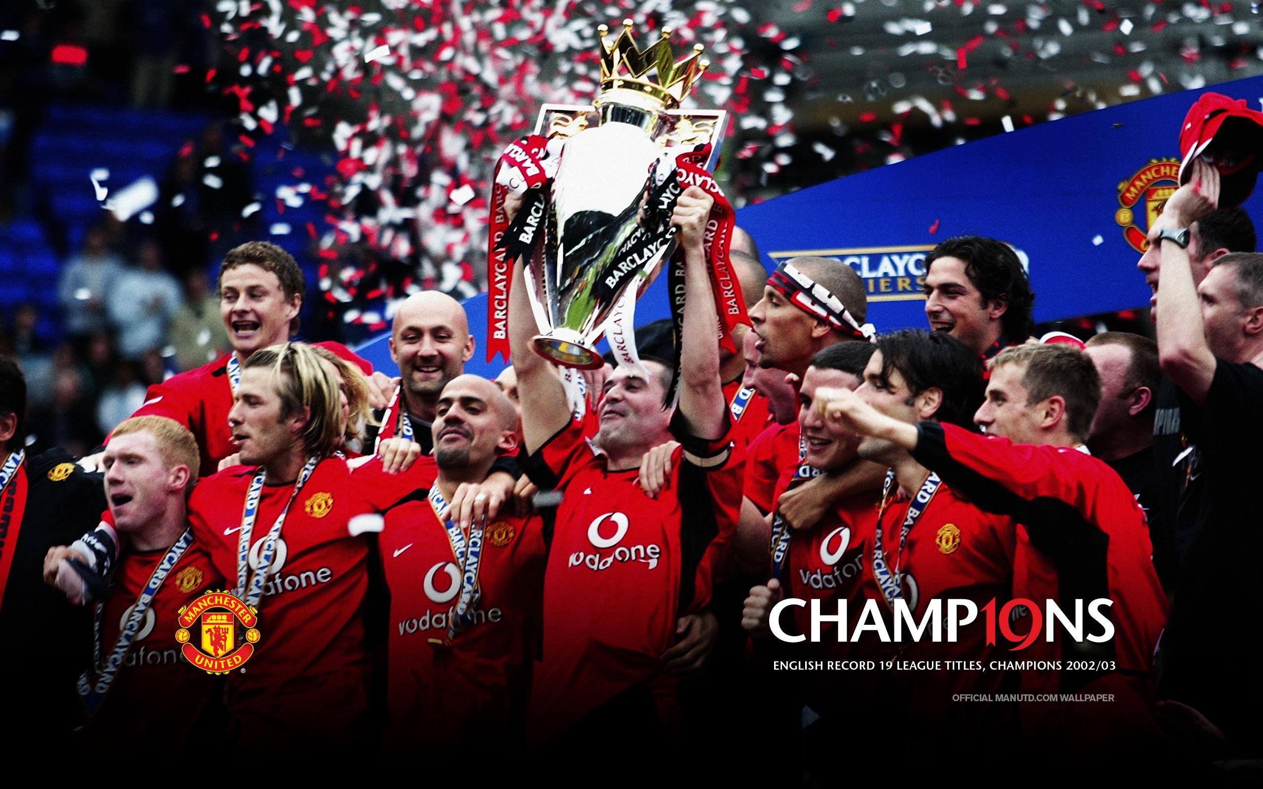 Wallpaper Man Utd Hd Champions 19 Manchester United Wallpaper