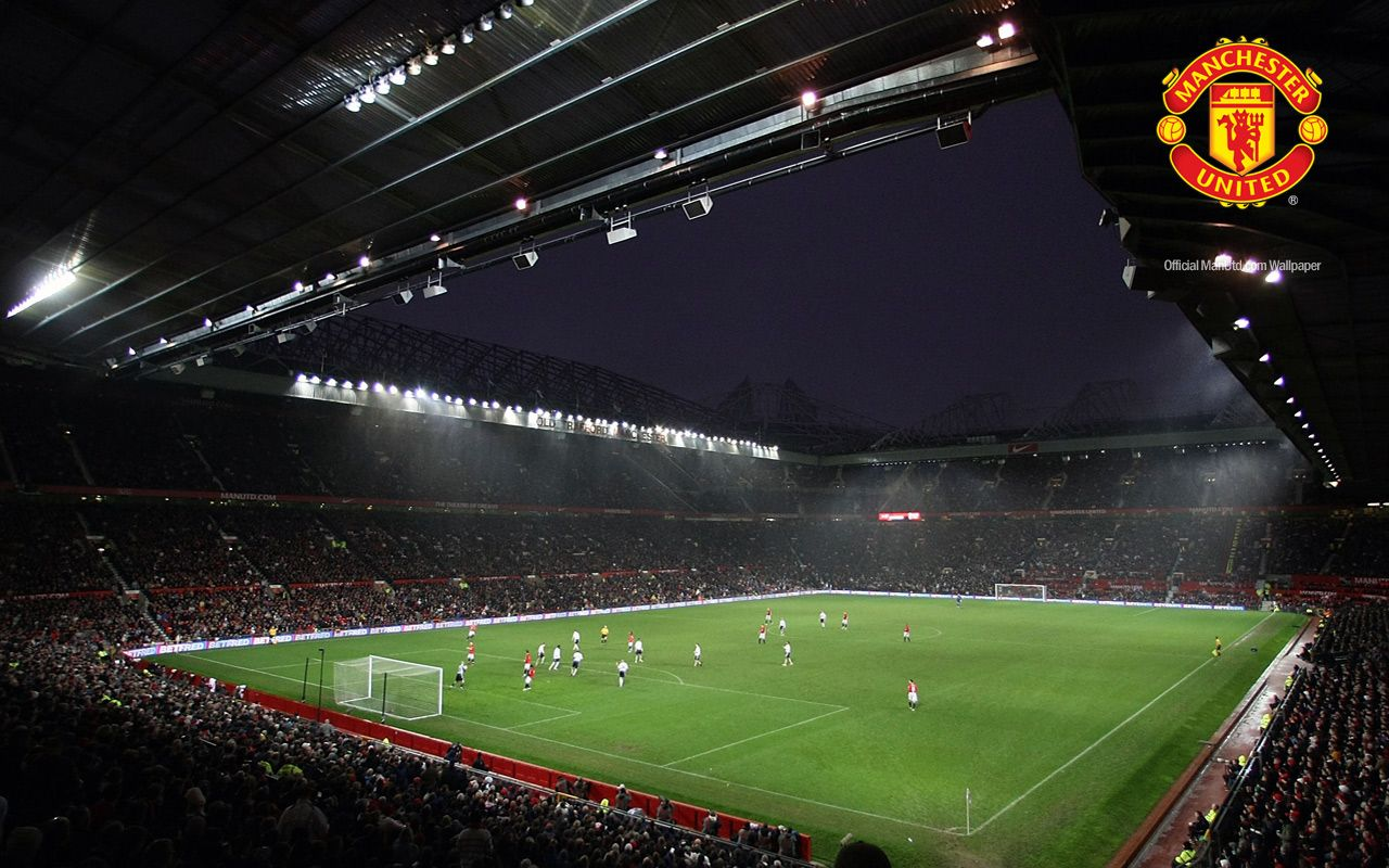 Ss 3d Name Wallpapers Old Trafford Manchester United Wallpaper