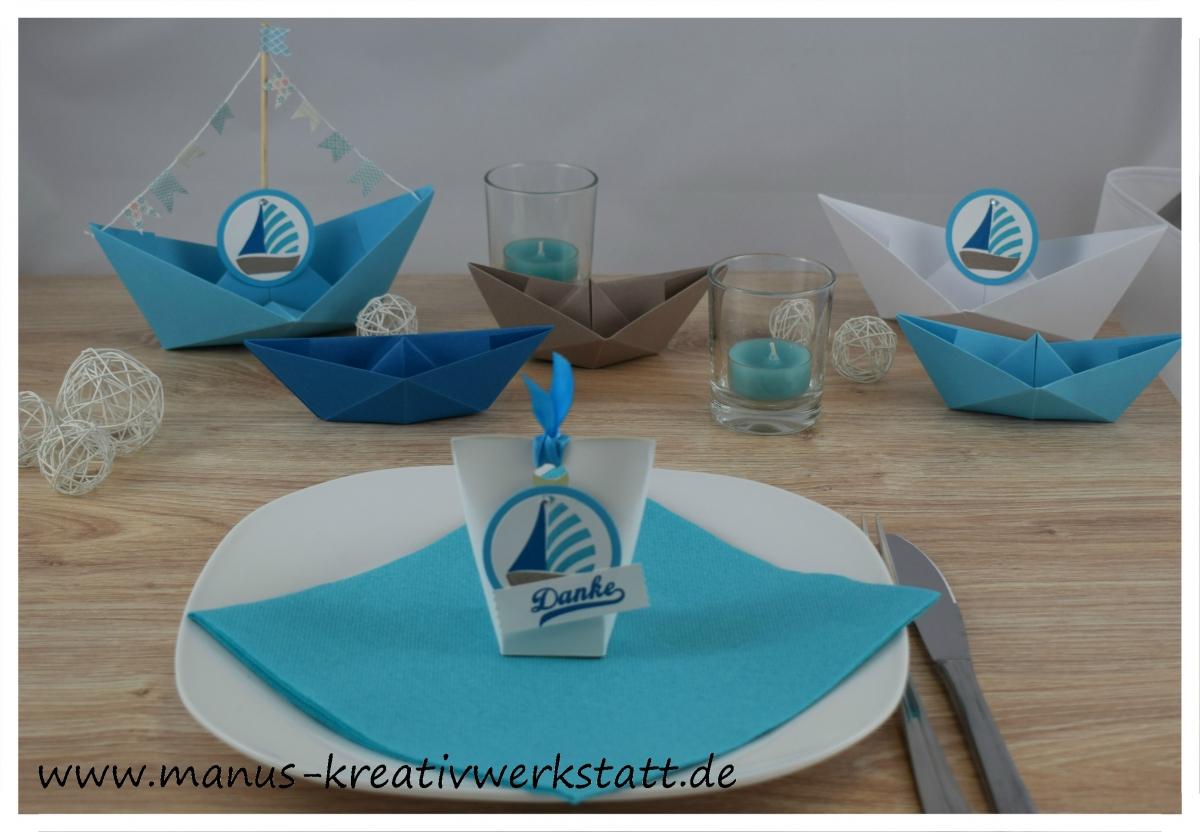 Tischdeko Kommunion Turkis Gastgeschenk Kommunion Ich Mache Blau