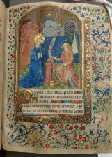Annunciation (Matins, Hours of the Virgin, f. 29)