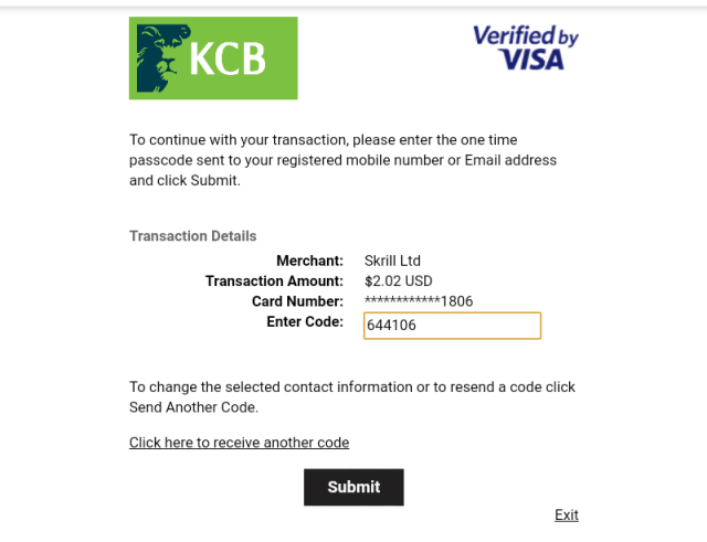 How to deposit 1Xbet without using Mpesa
