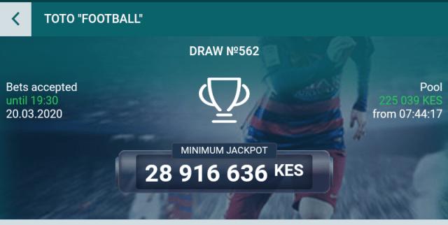 22bet Jackpot predictions