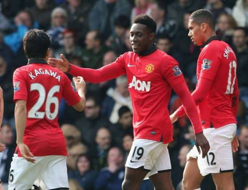 Welbeck scores the third against West Brom (8 Mar)